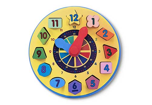 Educational Toys - Shape Sorting Clock