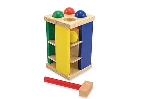 Sensory Toys for Autism -Pound-and-RollTower